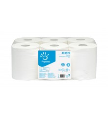 Bobine dev central blanc 2 plis