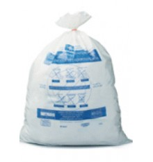 Sac bruxelles propreté blanc 60 L 24x14pc