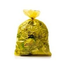 sac bruxelles propreté jaune 24x18pc