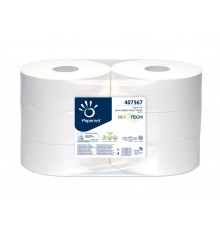 Papier wc Maxi jumbo 2 plis Biotech 6 rlx