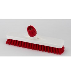 Brosse alimentaire rouge 30 cm