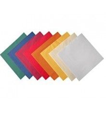 Serviettes 33x33 couleurs 2 plis 2000pc