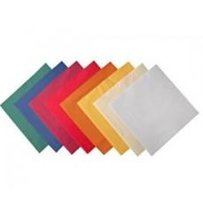 Serviettes 33x33 couleurs 2 plis 2000pc