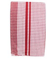 Essuie rouge-bleu carreaux