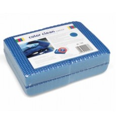 SACHET 4 X EPONGE HACCP COLOR CLEAN BLEU