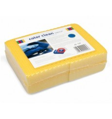 SACHET 4 X EPONGE HACCP COLOR CLEAN JAUNE