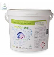 Détergent lessive en tablette concentré Ecolabel - seau de 125