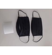 Masque réutilisable en coton avec filtre